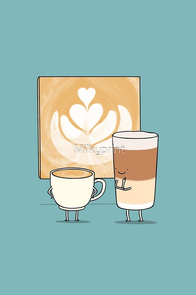 Latte art by Milkyprint