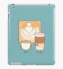 Latte art iPad Case/Skin