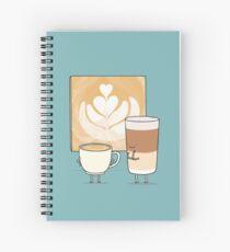 Cuaderno de espiral Arte de Latte