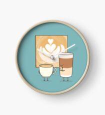 Latte art Horloge