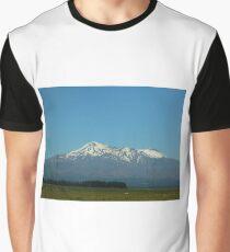 Mount Ruapehu New Zealand  Graphic T-Shirt