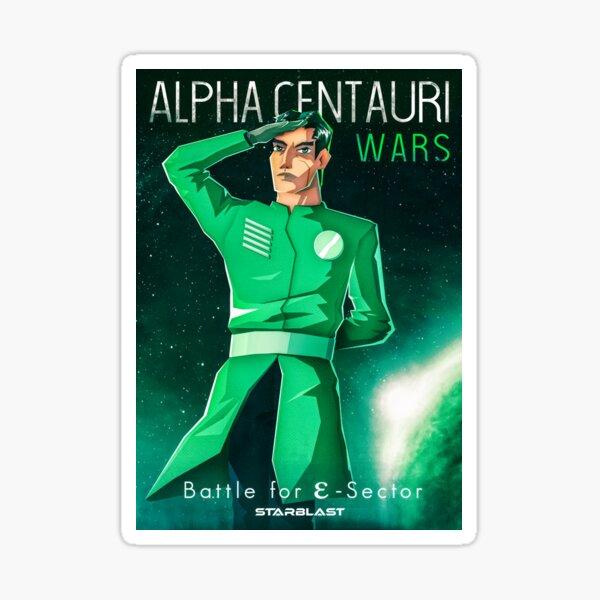 Alpha Centauri Wars - Bataille pour le secteur électronique Sticker