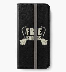 Free Shrugs iPhone Wallet/Case/Skin