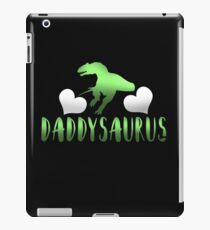 Daddysaurus Father's Day Gift iPad Case/Skin
