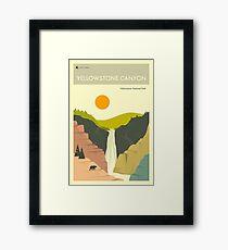 YELLOWSTONE CANYON Framed Print