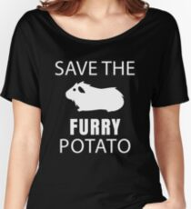 Guinea Pig - Save The Furry Potato Relaxed Fit T-Shirt