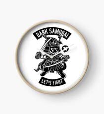 The samurai is back Clock