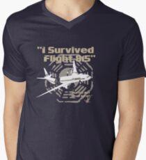"LOST ""I Survived Flight 815"" Men's V-Neck T-Shirt"