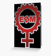 EBM Logo 6 Greeting Card