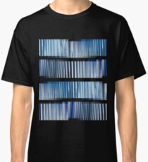 Blue Ripple Abstract Classic T-Shirt