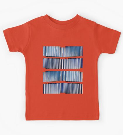 Blue Ripple Abstract Kids Clothes