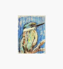 Sacred Kingfisher Art Board