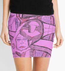 rivted Mini Skirt