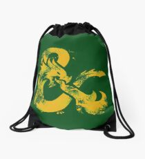 Dungeons&Dragons (Yellow) Drawstring Bag