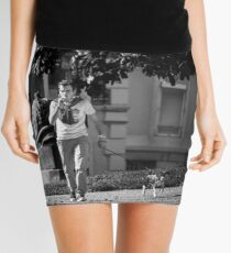 Walking The Dog Mini Skirt