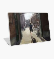 Portal in Haarlem City Laptop Skin