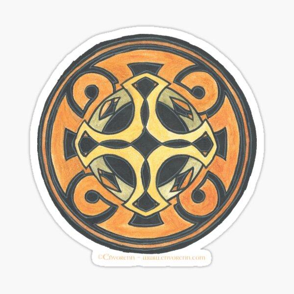 Celtic Crosses Sticker