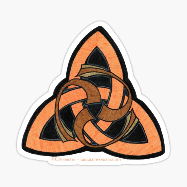 Triskell Nageoire Sticker
