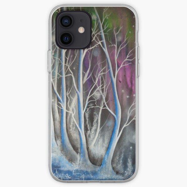 Wondering Blue Trees iPhone Soft Case