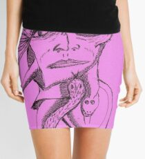 snake eyes Mini Skirt