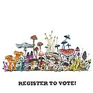 register to vote! von MushroomOTD
