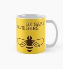 Be Safe - Save Bees Classic Mug