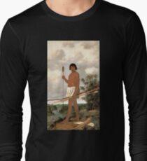 Brazilian warrior, by Albert Eckhout (7 of 8) HIGH DEFINITION Long Sleeve T-Shirt