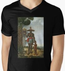 HD African Woman, by Albert Eckhout (6 of 8) HIGH DEFINITION Men's V-Neck T-Shirt