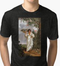 HD Mameluca woman, by Albert Eckhout (3 of 8) HIGH DEFINITION Tri-blend T-Shirt