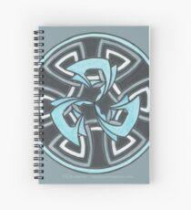 Cuaderno de espiral Hielo Triskell