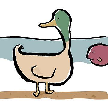 the heavy duck by greendeer