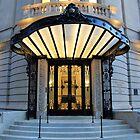 A Dramatic Beaux-Arts Entrance by Cora Wandel