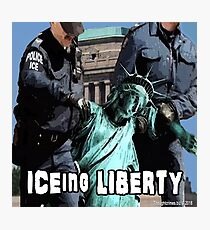 ICEing Liberty Photographic Print