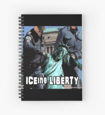 ICEing Liberty Spiral Notebook