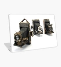 an assortment of old style film cameras        Laptop Skin