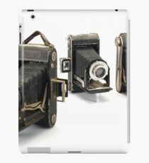 an assortment of old style film cameras        iPad Case/Skin