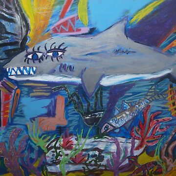 Picasso's pet  shark  by caseytosh
