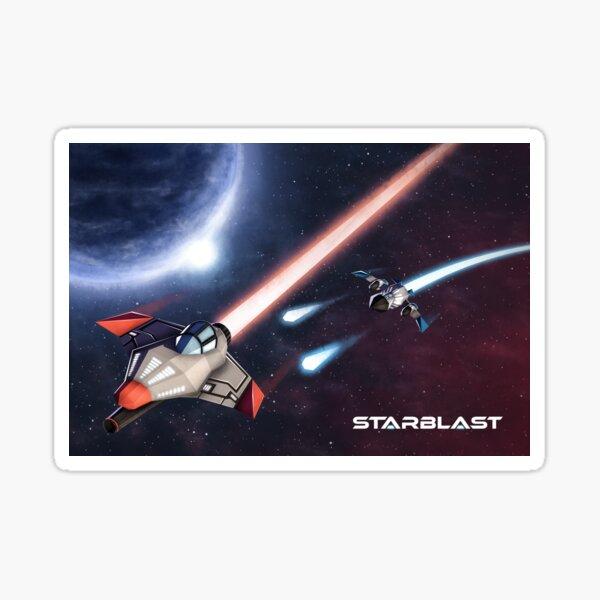 Poster Starblast Sticker