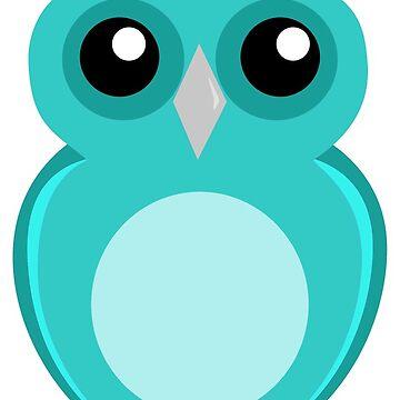 Blue Owl by FayeLangoulant