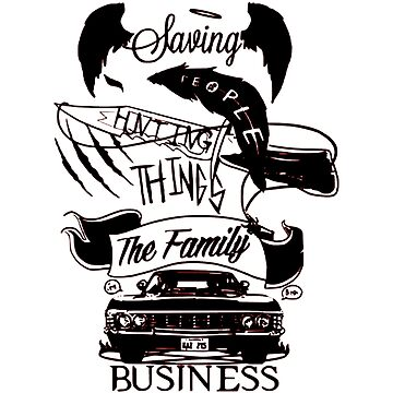 Supernatural - The Family Business by OtakuPapercraft