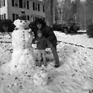 Making a Snowman with Zach by Wayne King