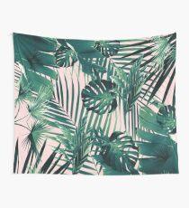 Tropische Jungle Leaves Siesta # 2 #tropische #decor # Kunst Wandbehang