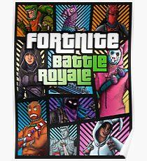 FBR - Fortnite Battle Royale… Poster