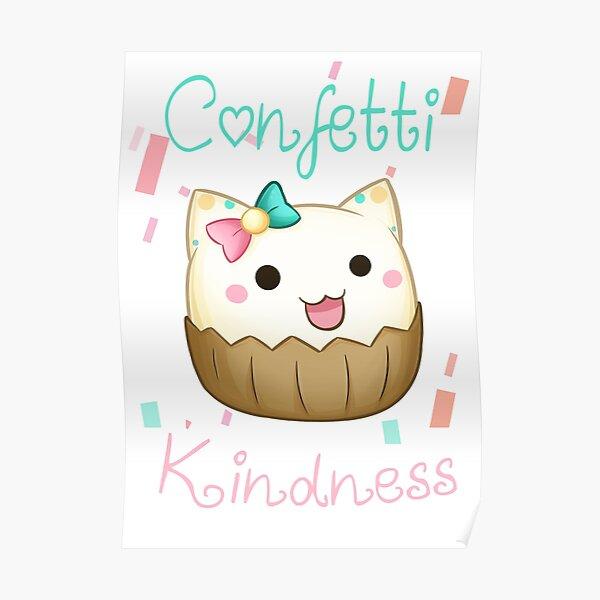 Confetti Kindness Poster