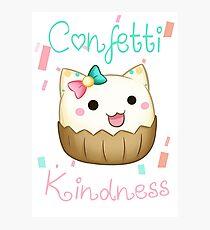 Confetti Kindness Photographic Print