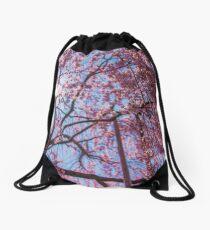 Weeping Sakura (Cherry Blossom) Tree from Japan Drawstring Bag
