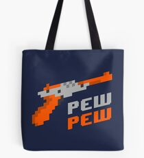 Geek Gifts | Pew Pew Zapper - Funny Gamer T-Shirt Tote Bag