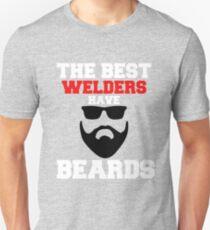 Best Welders Have Beards and Dark Sunglasses Unisex T-Shirt