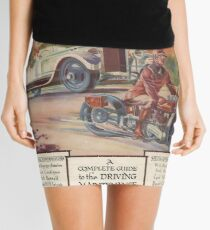 Cars and Motorcycles Mini Skirt