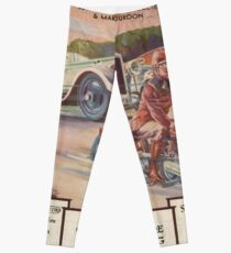 Cars and Motorcycles Leggings